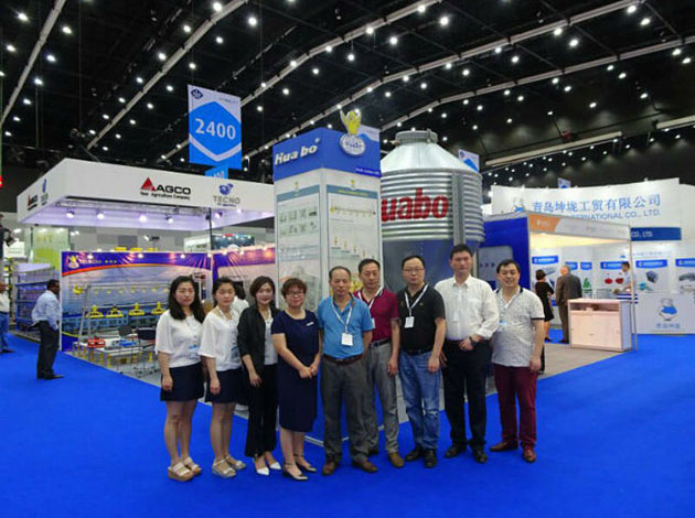 日联华波参加2017年亚洲(泰国)国际集约化畜牧展览会